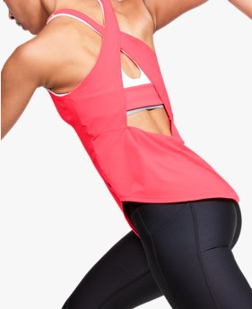 Women's UA Breathelux Stretch Open Cross Back Tank
